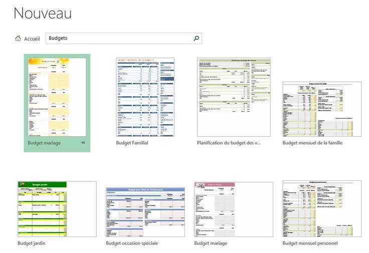 Créer un modèle de budget perso avec Excel - Fiche pratique Excel, Informatique & Bureautique