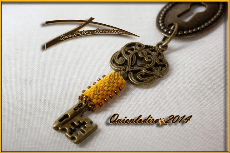 Quienlodira Creaciones: Collar Llave Maestra by Quienlodira