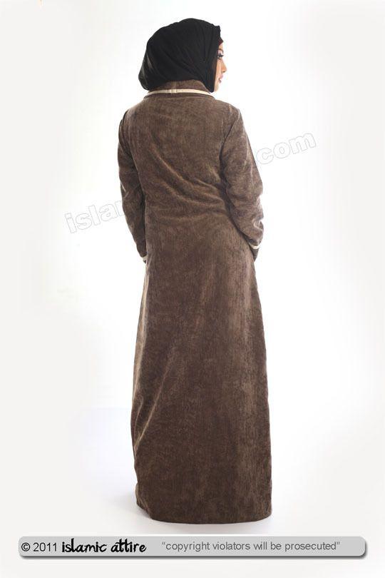 islamic attire - Aleena corduroy islamic jilbab, INR4,182.44 (http://www.islamic-attire.com/aleena-corduroy-islamic-jilbab/)