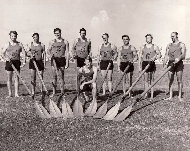 San Diego State University rowing team (1970) #Archive #Archives #Libraries #SpecialCollections #DigitalCollections #SanDiegoStateUniversity #College #University