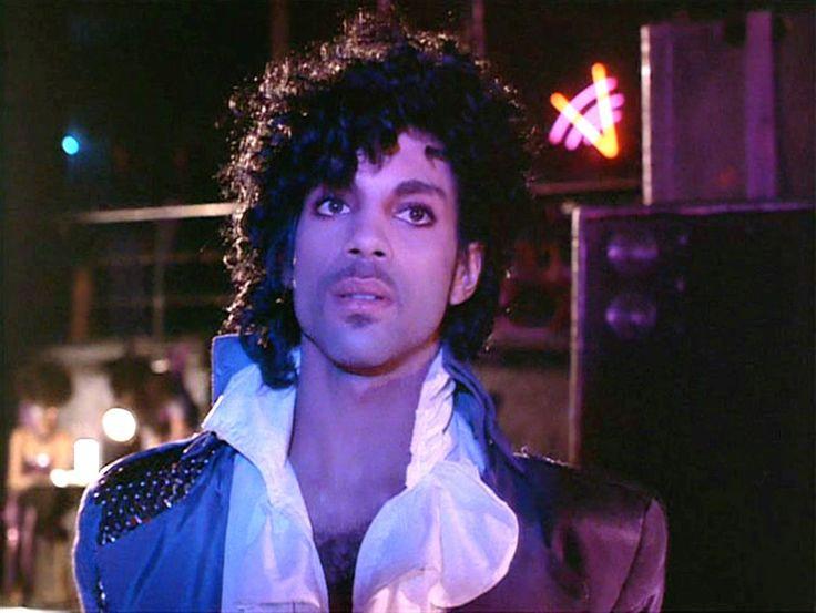 """Prince owns purple."" Prince in Purple Rain (1984)"