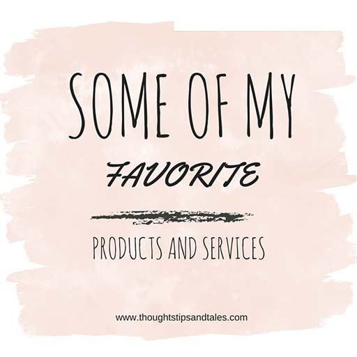 My favorite products and services: here are some of the things I love -- from boob-eez to zip-it drain cleaner.
