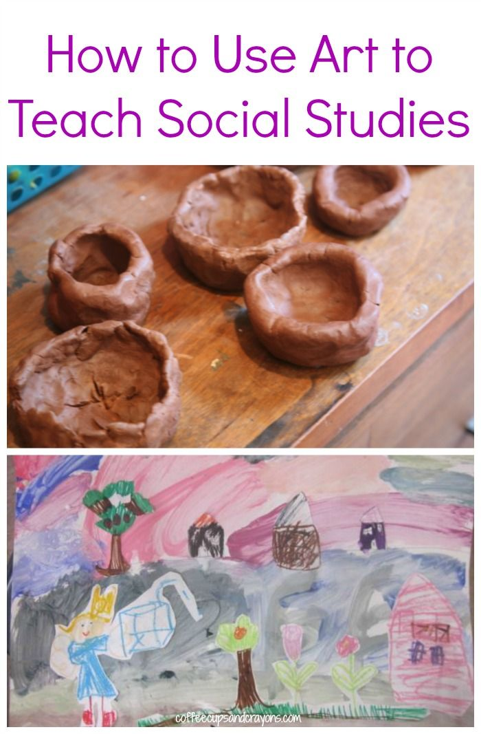 Using Art to teach Social Studies.