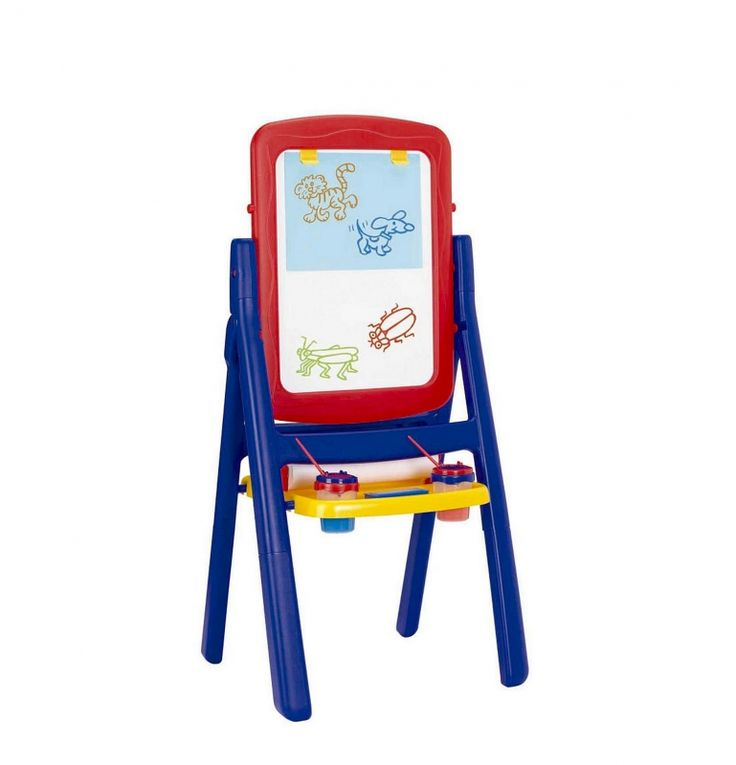Imaginarium flip and fold double-sided easel (2 colors) @ToysRUs #kids #Imaginarium #toys #art #gifts #easel