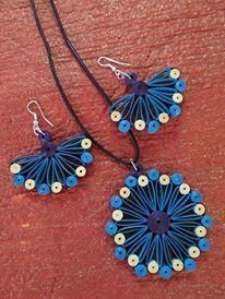 images of quilling jewellery - Google Search