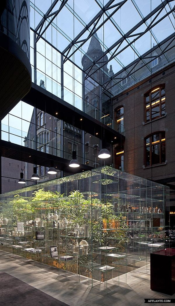 Conservatorium Hotel, Amsterdam designed by Piero Lissoni, leading Italian architect and interior designer pinned from Sanja B