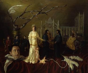 "Saatchi Art Artist Margarita Makarova; Painting, ""Princess Diana. Two truths"" #art"
