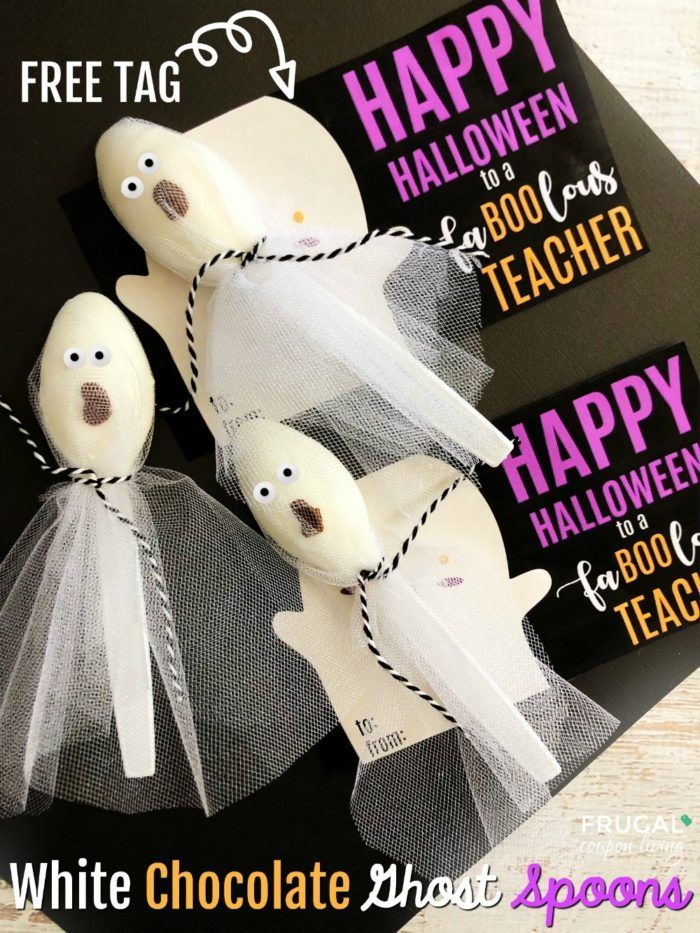 Fa Boo Lous Teacher Gift For Halloween With Free Printable