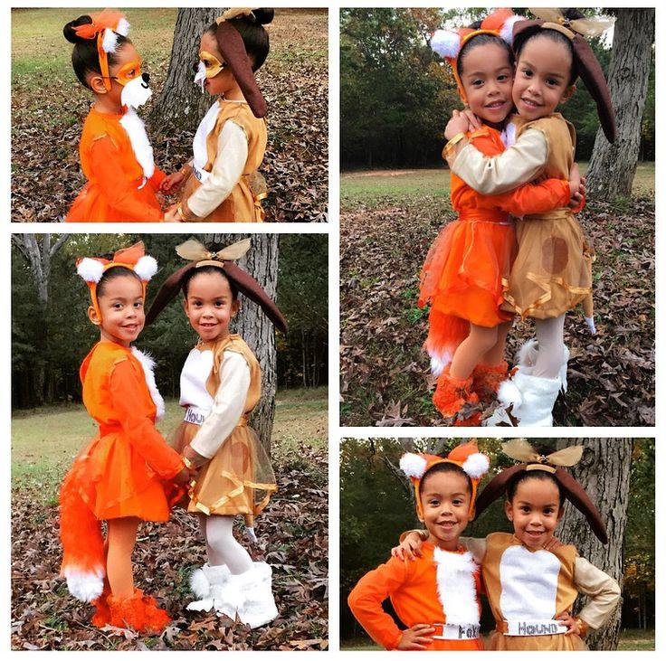 Twin girls Halloween