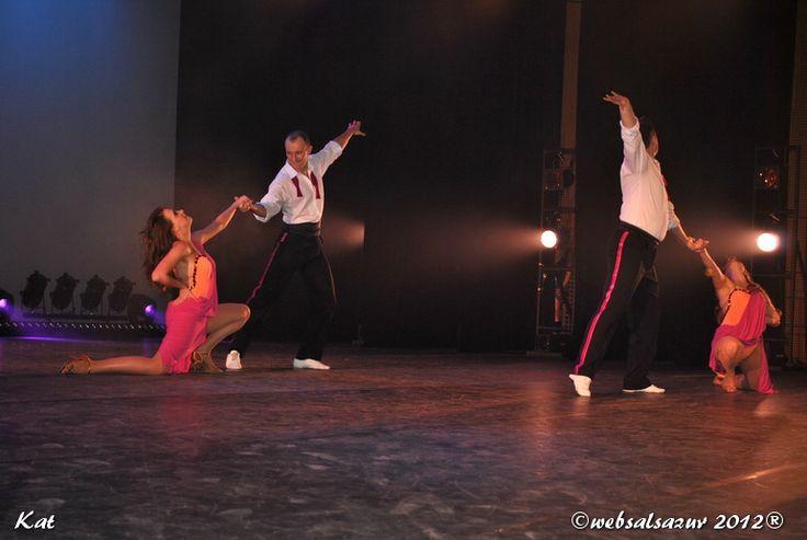 Formacja Salsa Libre na Monaco Salsa Congress 2012