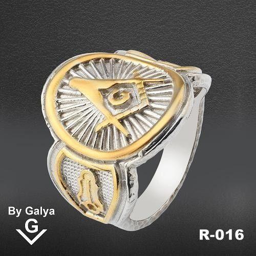 925 Silver Black Rhodium By Galya #masonic #freemasons #masonicring #maosnijewelry #freemasonry #masonicbracelet #masonicnecklace
