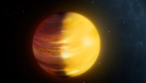 Direct imaging of exoplanets was once only possible for the brightest of planets orbiting the dimmest of stars — but improving technology is turning this into an increasingly powerful technique. In a new study, direct-imaging observations of the Jupiter-like exoplanet 51 Eridani b provide tantalizing clues about its atmosphere. The post A Partly Cloudy Exoplanet appeared first on Sky & Telescope.
