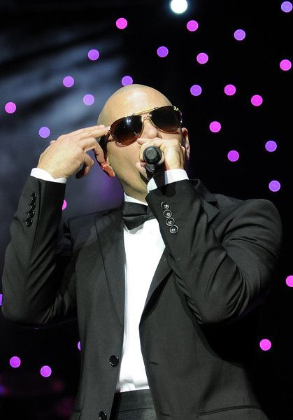 Armando Christian Pérez better known by his stage name Pitbull is an American rapper performed Friday at the El Paso County Coliseum.
