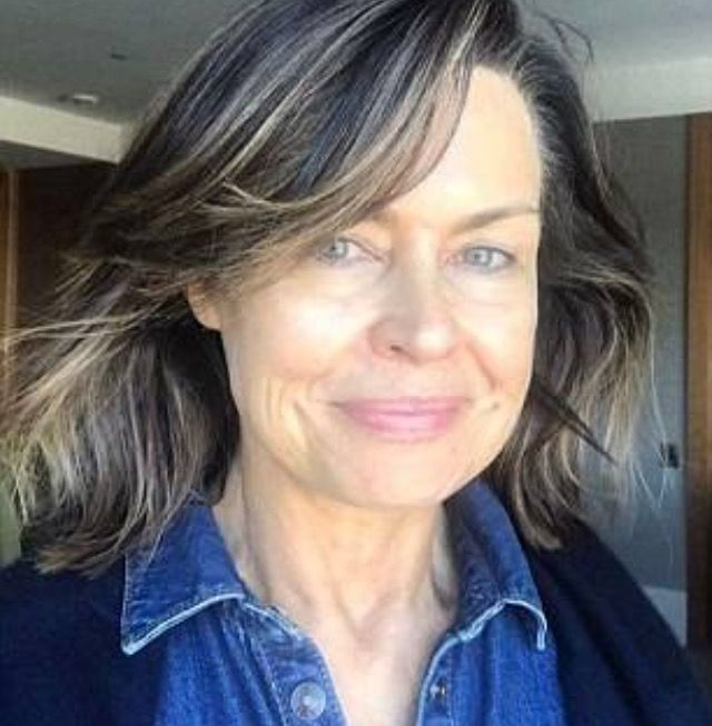 Lisa Wilkinson sans make-up