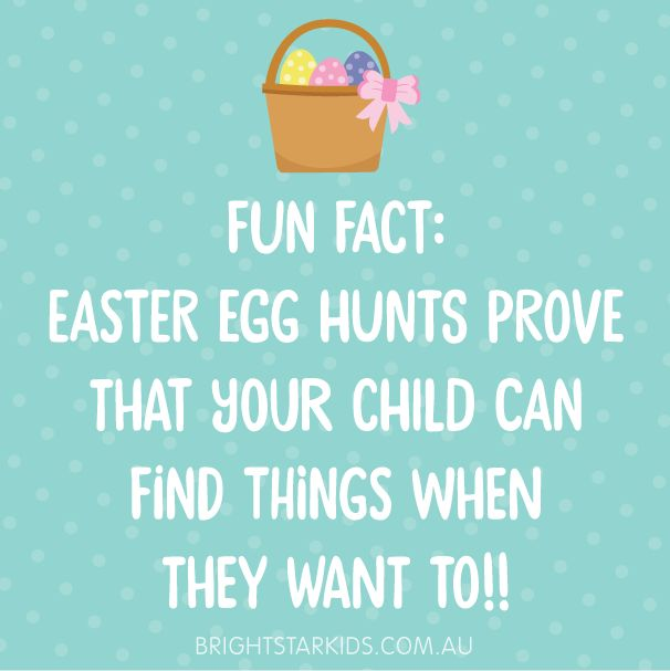Funny Easter quote // parenting