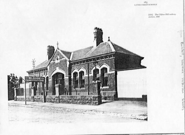 Clifton Hill railway station