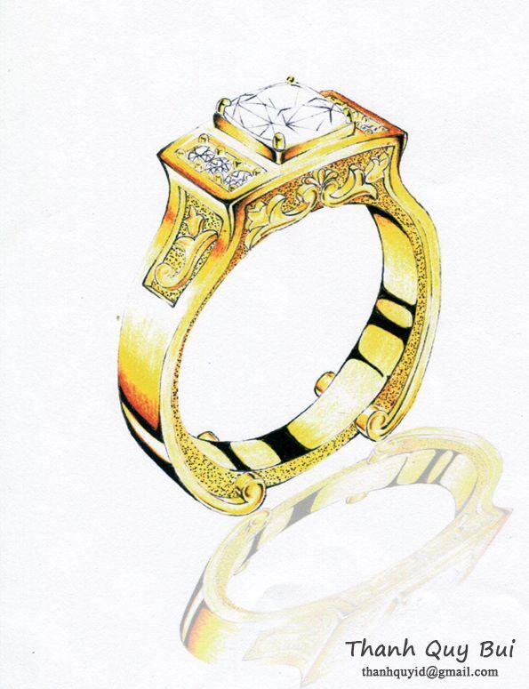 Galatea 's diamond ring.
