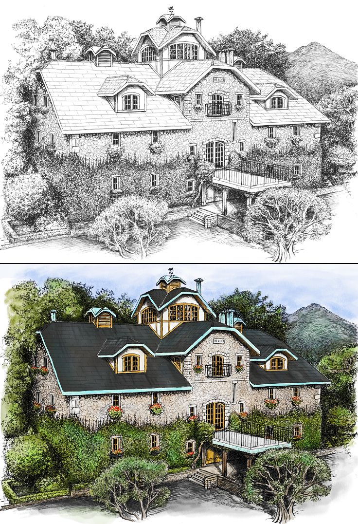 Far Niente Winery   Illustration   by designthis!