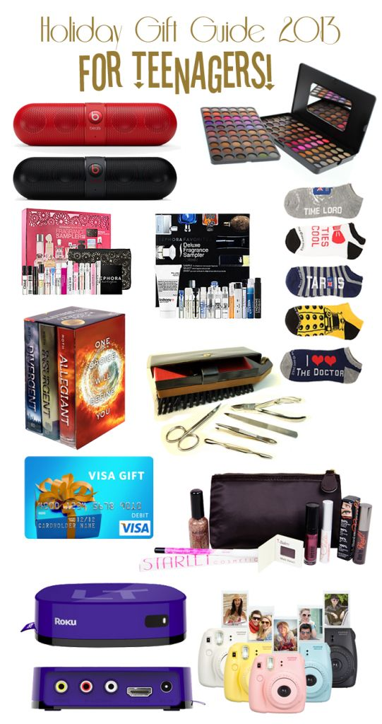 Holiday Gift Guide for Teenagers!