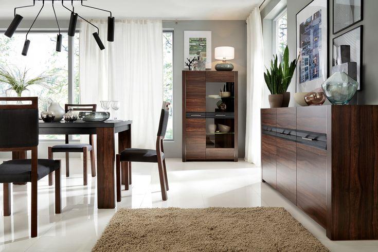 Black Red White - #Meble i #dodatki do #pokoju, #sypialni, #jadalni i #kuchni - #Inspiracje #interior #design #idea #home #wnetrza #livingroom #bedroom #inspiration