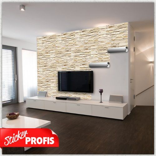 25+ Best Ideas About Tv Wand Stein On Pinterest | Tv Wand Aus ... Fernseher Wand Deko