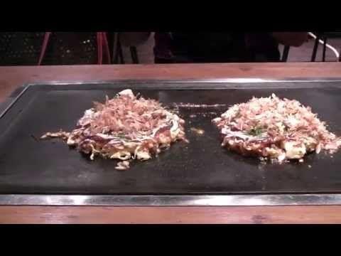 Mangiamo un Okonomiyaki ad Osaka - YouTube