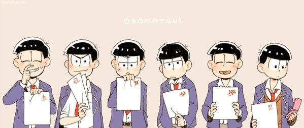 おそ松さん 高校生パロ