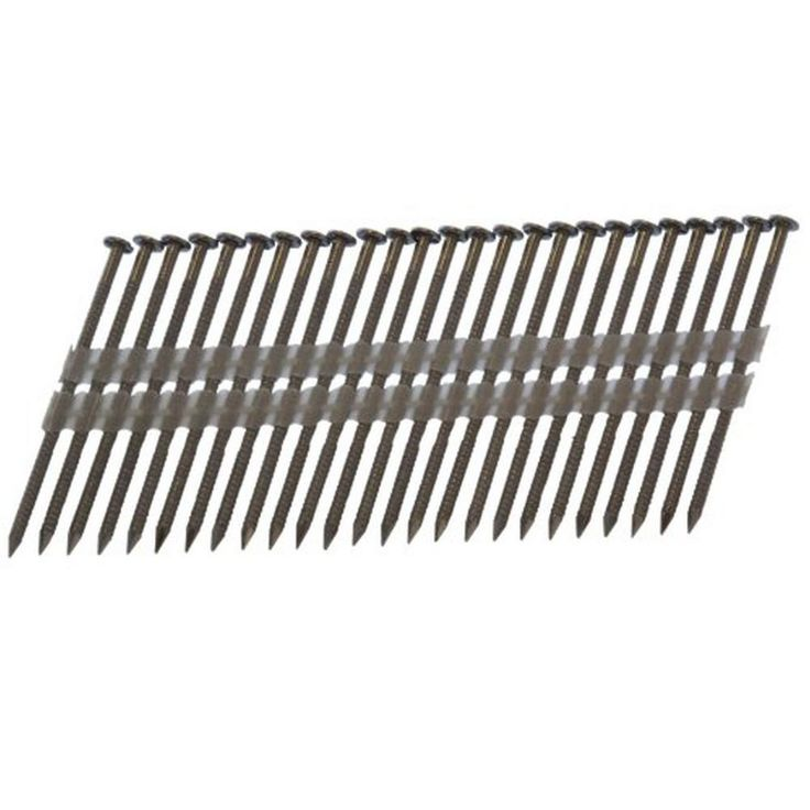 Framing 2-3/8 in. x 0.113 in. 20° to 22° Plastic Strip 304 Stainless Steel Nail (1,000-Piece)