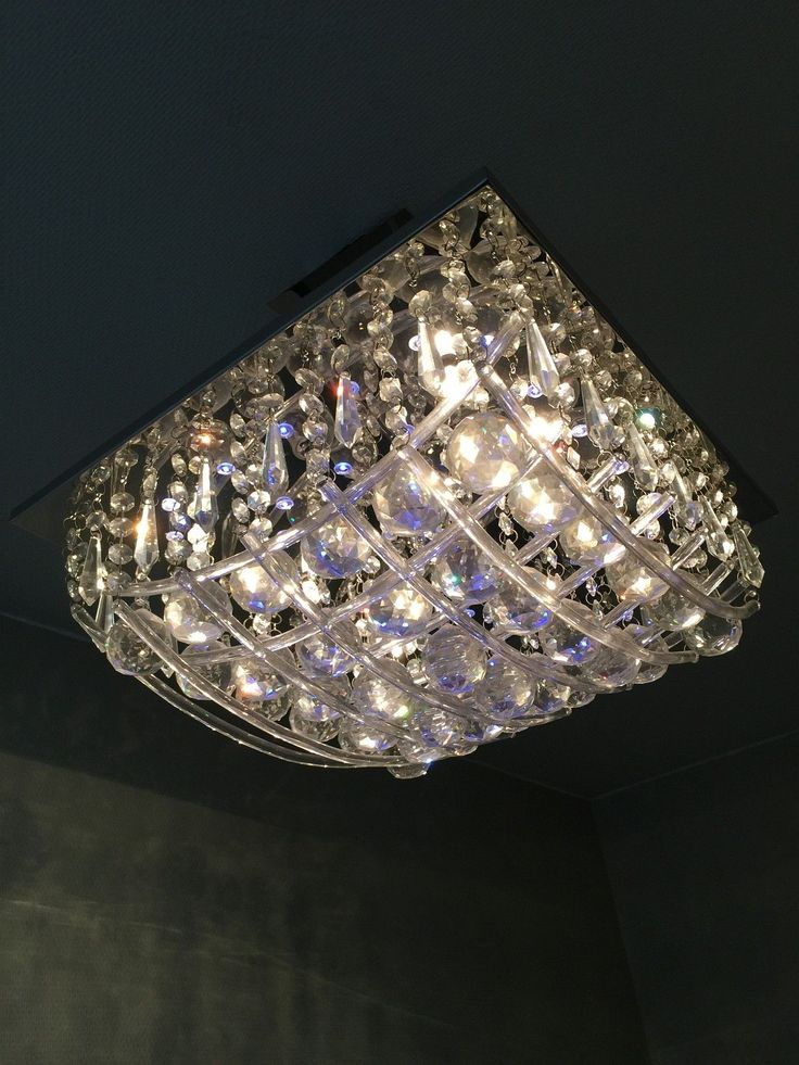 FINN – Pen taklampe med krystall