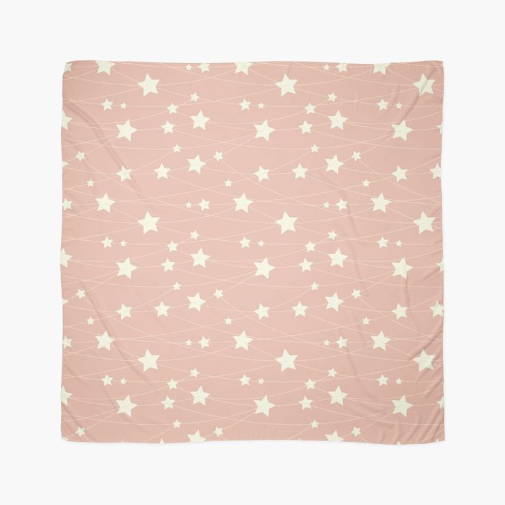Hanging Stars - ashy pink by LunaPrincino #redbubble #print #prints #art #design #designer #graphic #clothes #for #women #apparel #shopping #fashion #style #pattern #texture #pretty #cute #beautiful #girlish #dreamy #hanging #stars #ashy #pink #and #cream #beige #fantasy #starry #pale #pastel #magic #gift #idea #ideas #trend #summer #spring #scarf #scarves #accessories