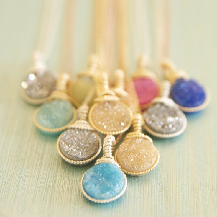 A Colorful Druze Necklace Collection – Bare and Me