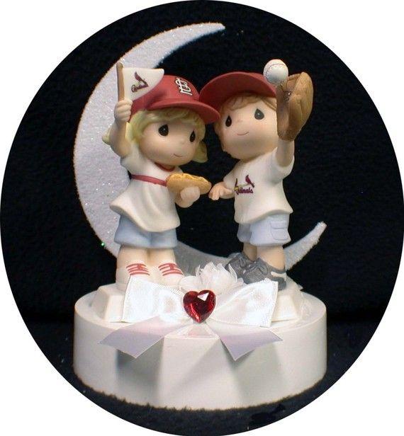 Precious Moments Baseball Cake Topper