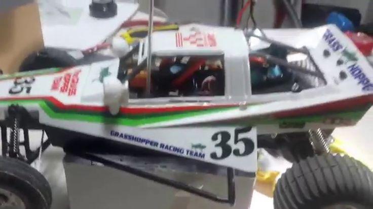Tamiya Grasshopper with brushless motor 5.5 turn
