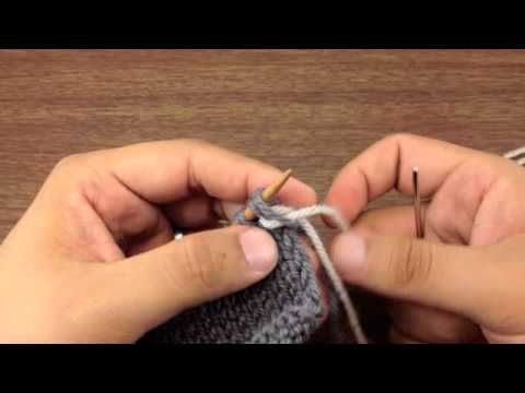This video knitting tutorial will help you learn how to knit Elizabeth Zimmerman's sewn bind off. This method of casting off was developed to compliment the look of the long tail cast on. By sewing the tail of your yarn through the stitches, you can create a finished edge that perfectly mirrors the long tail.