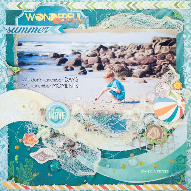 ScrapTherapy by Evgenia Petzer: Bo Bunny key lime layout/Страничка Bo Bunny and my new kit club!