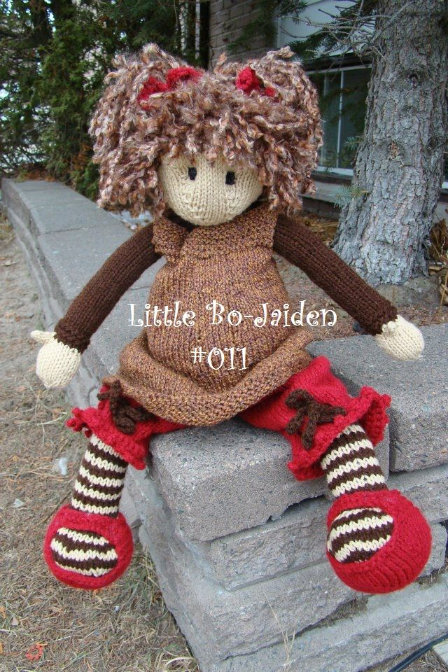 130 best images about Knitting Dolls on Pinterest Knit patterns, Toys and R...