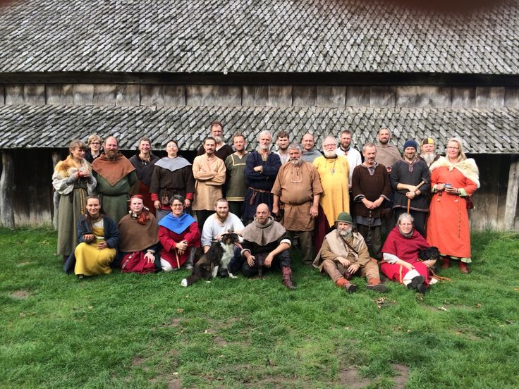 viking black smiths meet at Trelleborg Slagelse in Denmark in 2014. it was my first day as viking :D