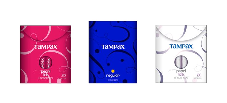 PACKAGING :: Tampax Brand Vision Project on Behance