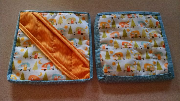 Quilted Camping Pot Holders