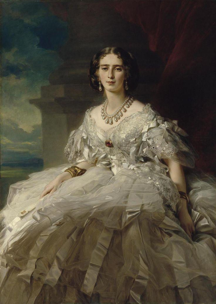 Franz Xaver Winterhalter - La princesse Tatyana Alexandrovna Yusupova