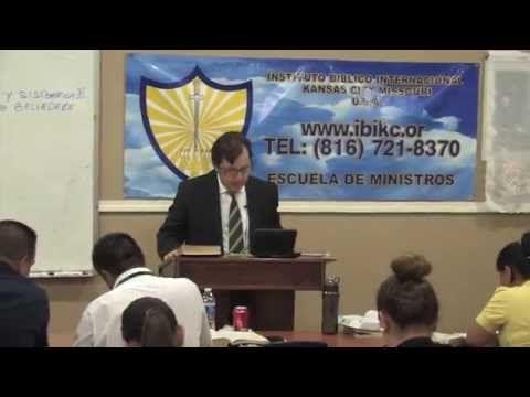 Teologia Biblica y Sistematica III, Clase # 1, Instituto Biblico Internacional - YouTube