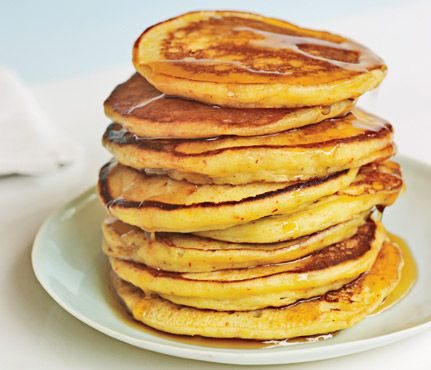 Gwenyth Paltrow's World Famous Pancakes recipe food breakfast --make batter the night