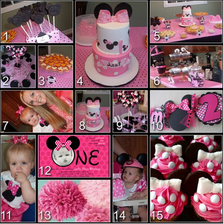 AMAZING Minnie Mouse party ideas :)