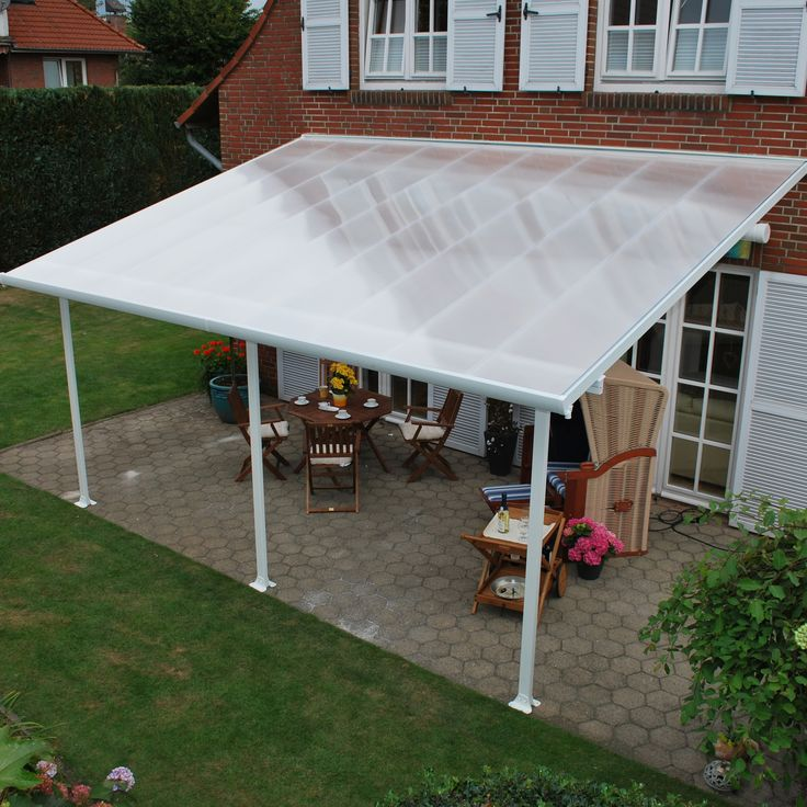 Feria 10ft H X 20ft W X 10ft D Patio Cover Awning