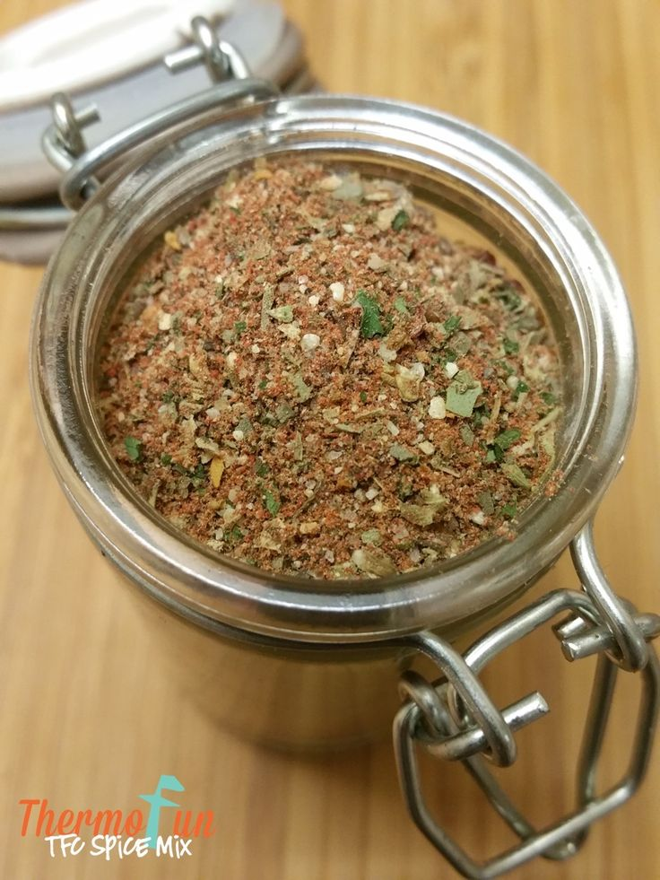 "Forget KFC 11 herbs and spices - You MUST try the ThermoFun Chicken Spice Mix (TFC) - an added ""secret"" ingredient will have your family coming back for sec"