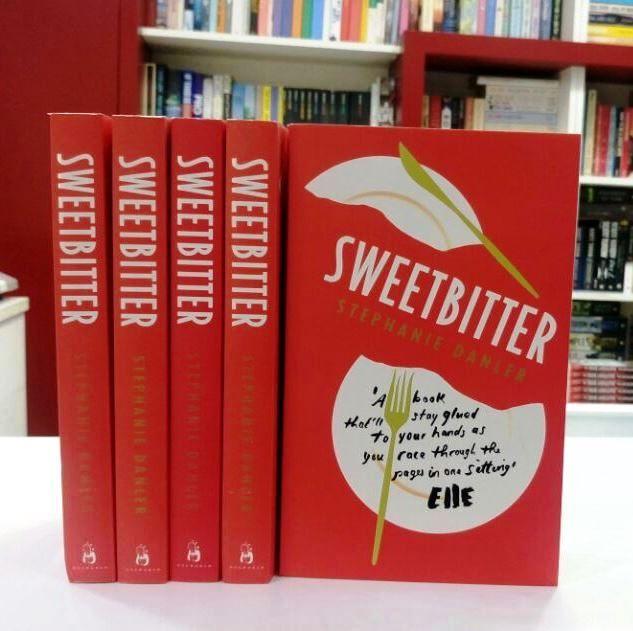 New arrivals for the summer! #FreshOffThePress #SummerReads #Sweetbitter #StephanieDanler #BookShoot #Food&Work