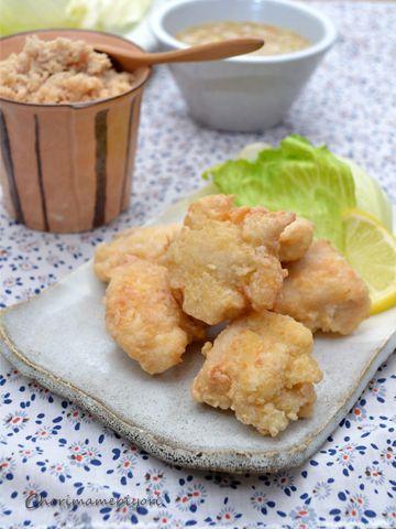 ゼラチン活用術⑤~ジューシー鶏むねから揚げ。しっとり鶏そぼろ。冷製 ...