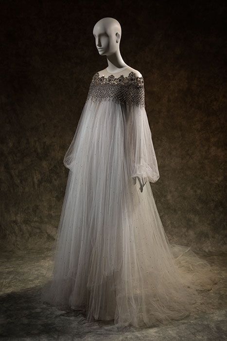 Marchesa gown, spring 2012, lent by Marchesa