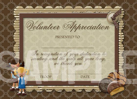 Free printable volunteer certificates of appreciation paso free printable volunteer certificates of appreciation yadclub Gallery