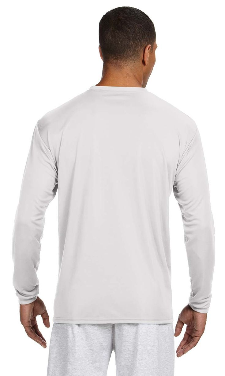 A4 N3165 Men S Long Sleeve Cooling Performance Crew Ad Men Aff